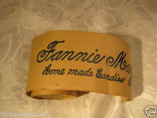 Fannie May Candies Candy General Store Advertising Paper Roll Antique Rare