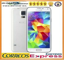 SAMSUNG GALAXY S5 G900F 4G LTE BLANC LIBRE TÉLÉPHONE MOBILE SMARTPHONE OCCASION