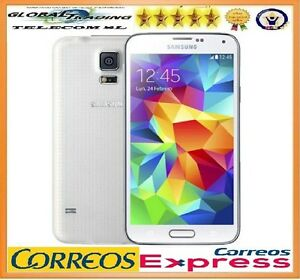 Samsung Galaxy S5 G900F 0.1oz LTE White Free Phone Mobile Smartphone Occasion