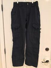 5.11 Tactical Series Uniform Security Work Pants Blue Mens Size 30x32