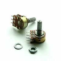 WH148 Shaft Mixer Variable Resistors Dual Potentiometer  B10K/20K/50K/100K/500K