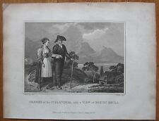 Blomfield: Print Iceland Mount Hekla - 1807