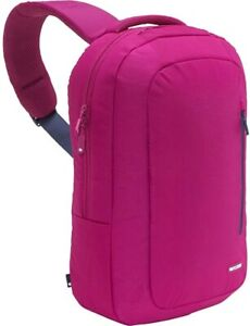 INCASE NYLON SLING LAP TOP FITS UP TO 15' BACKPACK  CL55360 Fuschia/Insignia