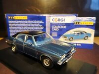 WOW EXTREMELY RARE 1/43 VANGUARDS FORD CORTINA MK3 GXL SAPPHIRE BLUE SWAMPY