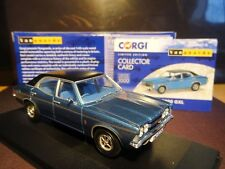 WOW EXTREMELY RARE 1/43 VANGUARDS FORD CORTINA MK3 GXL SAPPHIRE BLUE SWAMPY NLA