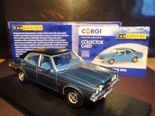 Wow extremadamente raro 1/43 vanguardias Cortina de Ford MK3 Gxl Azul Zafiro pantanoso