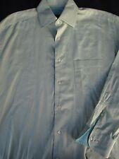 Hugo Boss Mens Button Front Long Sleeve Designer Cotton Shirt 16