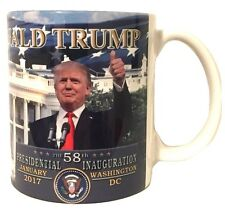 Donald Trump 58th Inauguration In Front of White House Mug Cup