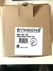 Symmons Origins Valve Trim Handle/Lever Model 9600-PLR-TRM Shower Chrome Finish