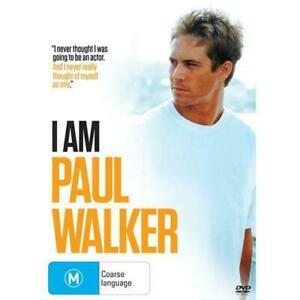 I Am - Paul Walker : NEW DVD