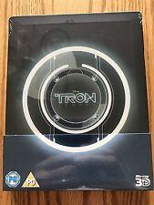 Disney Tron Legacy STEELBOOK (3D/2D Blu-Ray)- Zavvi Region Free OOS/OOP