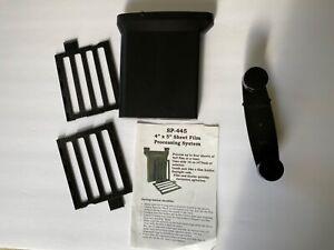 SP-445 4x5 Sheet Film Processing System