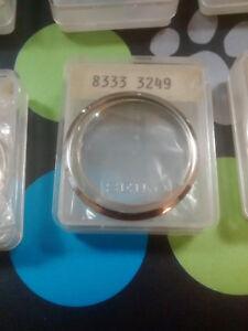 Seiko 7009-8140, 7009-8430, 7009-843A, Bezel, Genuine Seiko Nos, S/Steel