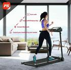 Folding Treadmill Electric Motorized Running Machine with 3.5inch LCD