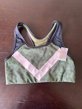 Victorias Secret PINK Ultimate SPORTS Dry Wick Yoga Gym Run Bra Small Colorblock