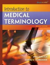 Introduction to Medical Terminology (Studyware), Schroeder, Carol L., Ehrlich, A