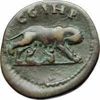COMMODUS 188AD Parium Parion Mysia Authentic Ancient Roman Coin WOLF i76073
