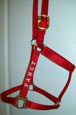 Monogrammed Horse Halter/Personalized Horse Halter - 18 COLORS