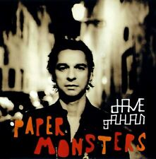 DAVE GAHAN paper monsters (CD album) CDSTUMM216 synth pop uk mute 2012 reissue