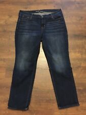 Women's OLD NAVY Original Mid-Rise Blue Jeans, Size 16 Short, GREAT CONDITION!