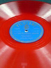 Pilotone Red Vinyl Ray Kinney ISLE OF GOLDEN DREAMS / UA LIKE NOA LIKE 78 E