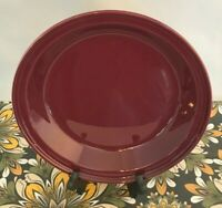 Fiestaware Claret Deep Dish Pie Baker Fiesta Retired Burgundy Pie Pan