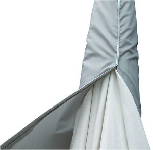 Housse de Protection Gartenschirmhaube 135x35 Ocm 2m Étui Pour Parasol ETGF0011