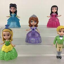 Disney Sofia The First Royal Figures Amber James Vivian Hildegard 5pc Just Play