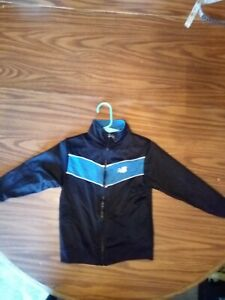 boys black and blue new balance jacket size 4t