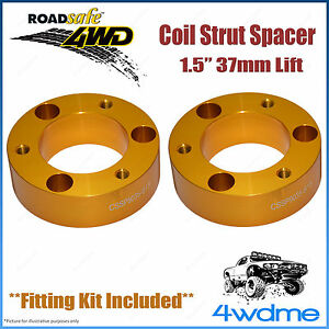 """Pair Mitsubishi Pajero NM NP NS NT 4WD Front Coil Strut Spacer 1.5"""" 37mm Lift"""