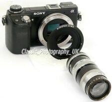 16mm Movie Lens C-Mount to SONY NEX Adapter Schneider Lenses on Sony NEX E Mount