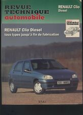 (167) Revue technique automobile Renault Clio Diesel