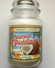 Yankee Candle ALOHA COLLECTION COCONUT PUDDING 22 oz. RETIRED HTF SCENT HAWAII