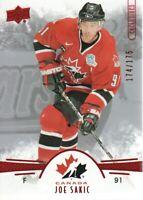 2016-17 UD Team Canada Juniors Hockey Exclusives #97 Joe Sakic 174/175
