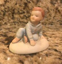 New ListingEnesco: Porcelain Growing Up Boys Figurine