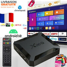 Boitier X96Q ANDROID 10 IP&TV SMART BOX 4K Ultra HD WiFi - Livraison RAPIDE
