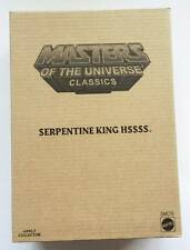 Masters Of The Universe Classics Serpentine King Hssss Matty Collector 2016 MIB