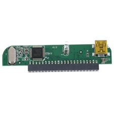 "1Pc Laptop 2.5"" HDD 44&pin 44Pin female IDE PATA to mini USB 5&pin adapter ca G2"