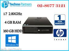 HP 8100 Elite SFF PC Desktop Intel Quad Core i7-860 2.8G 4G 160G Win 10 Warranty