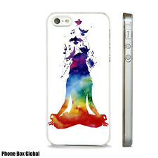 WATERCOLOUR ART MEDITATION NEW CASE FITS IPHONE 4 4S 5 5S 5C 6 6S 7 8 SE PLUS X