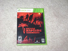 DEAD ISLAND RIPTIDE SPECIAL EDITION...XBOX 360...**ORIGINAL LABEL**SEALED**NEW**