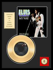 """ELVIS PRESLEY - MY WAY 7"""" GOLDENE SCHALLPLATTE"""