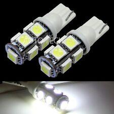 2X T10/194 6000K Xenon White 9 LED Backup Reverse Light Bulbs Lamp
