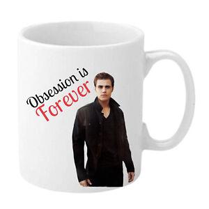 Valentines Day Gift Mug Vampire Diaries Stefan Salvatore - Paul Wesley Sexy Cup