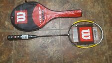 New Wilson Titanium Series Ti. Smash badminton racquet with cover