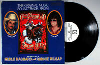 Merle Haggard - Bronco Billy (1980) Vinyl LP • PROMO • Ronnie Milsap, Soundtrack