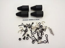 NEW ROVAN AXLE DUST BOOT SET WITH C-CLIPS BODY PINS NUTS HPI BAJA KING MOTOR