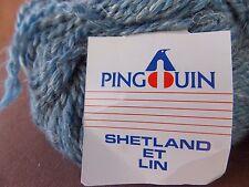 8 - 50 Gram/80 yd Pingouin Shetland ET Lin 70% Wool, 30% Linen Yarn