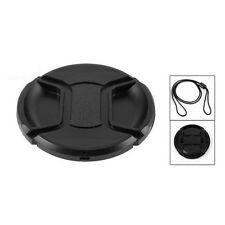 Best Price 55mm Center Pinch Snap Cap Cover For SLR Camera Lens Filter Black