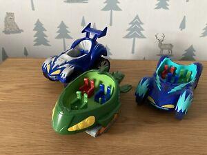 PJ Masks Vehicles x3